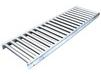 STAINLESS STEEL ROLLER CONVEYORS - ALL STAINLESS STEEL 'H' TYPE SUPPORTS